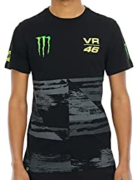 Tee Shirt Valentino Rossi Vr46 Fade Noir