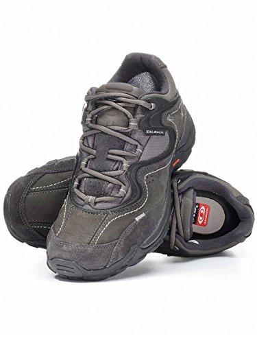 Salomon Scarpe da passeggiata Donna ELIOS 2 GTX DONNE Scarpe outdoor asfalto, Dimensione:UK 5.5 (38 2/3) Nero