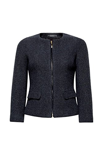 ESPRIT Collection Damen Jacke Grau (Anthracite 5 014)