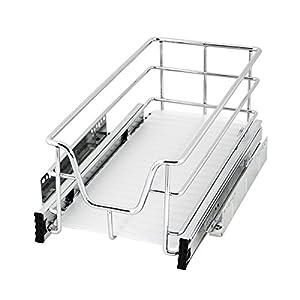 bremermann® Teleskopschublade, Küchenschublade mit Einlegeboden, 30 cm