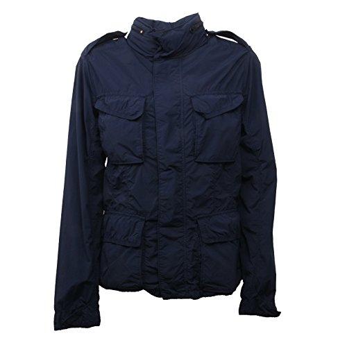 C0352 giacca donna ASPESI DAKARINA blu giubbotto jacket woman [L]