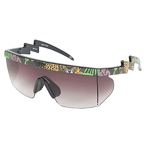 Neff Unisex Brodie Shades Sunglasses Danger Paradise Black