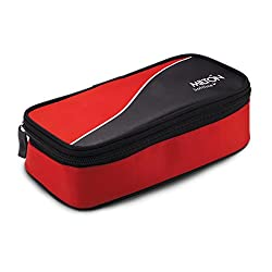 Milton Happy Meal 2 Cont Lunch Box, 520 ml, Red (EC-SOF-FST-0002_Red)