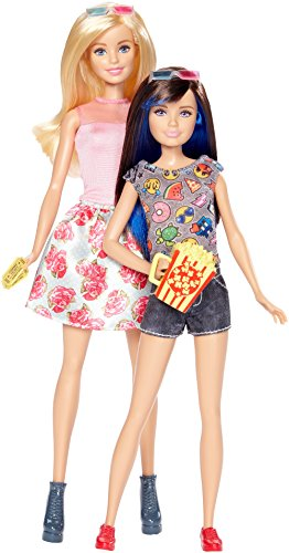 Barbie DWJ65 Schwestern 2er-Pack Puppen Barbie & Skipper