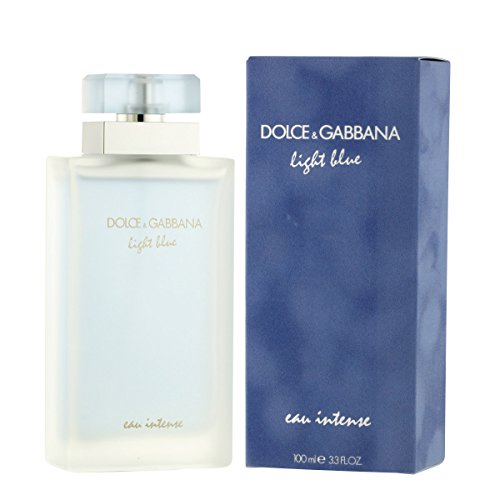 Dolce & Gabbana Light Blue Eau Intense Pour Femme EDP Spray, 100 ml (Parfums Dolce Light Blue Gabbana)