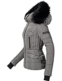 773f30d836b0 Navahoo Damen Winter Jacke Steppjacke Adele (vegan Hergestellt) 11 Farben XS -XL