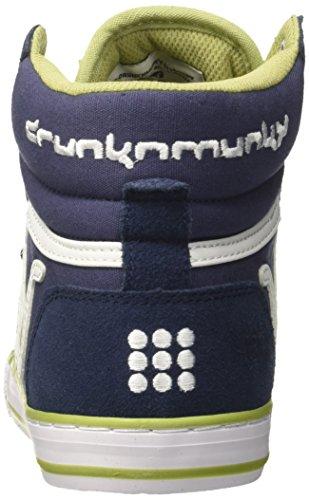 DrunknMunky Boston Classic, Scarpe da Tennis Uomo Blu (Navy/Olive)