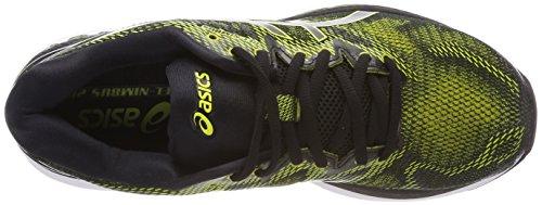 Asics Gel-Nimbus 20, Scarpe Running Uomo Multicolore (Sulphur Spring/black/white)