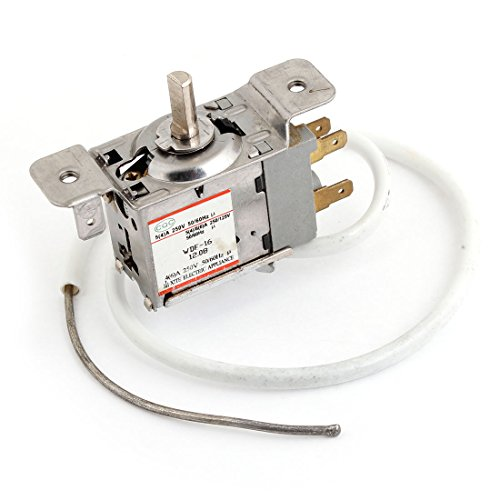 sourcingmap® 5 bis 15 Celsiusgrad 3 Pins Gefrierfach Kühlschrank Thermostat AC 250V 4/6A de (Thermostat Ac)