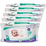 Himalaya Gentle Baby Wipes, 72 Count (Pack Of 5)
