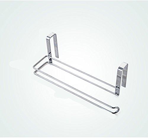 ASL Hängende Papierhandtuch Regal Cling Film Storage Rack Küchenrollenhalter Badezimmer Toilettenpapierhalter NBN ( Farbe : A ) (Asl Filme)