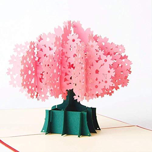 Origami Kzfs 3d Pop-up-gruß & Geschenk Handgemachte Origami Kraft Papier Laser Geschnitten Karte (Kraft Origami-papier)