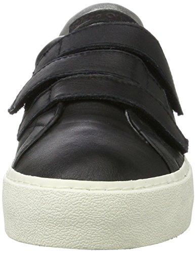 Marc O'Polo Damen Sneaker 70714203502110 Schwarz (Black)