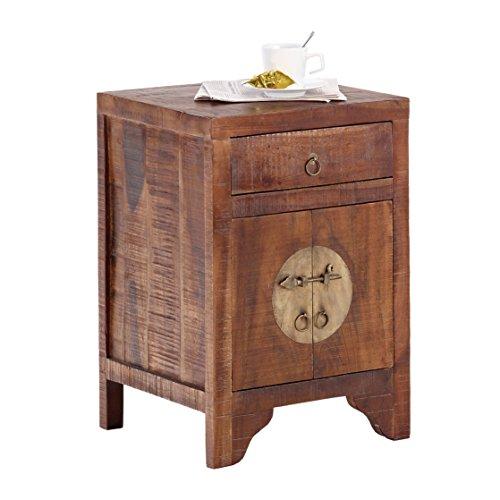 Wolf Möbel CHINA 8280 Kommode mit 1 Schublade, 2 Türen, Holz, forest, 40 x 45 x 65 cm
