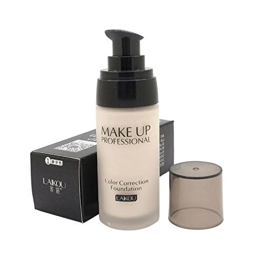 LEAPCROWN 1Pc Water Tender Containment40g Concealer Liquid Foundation Ivory White