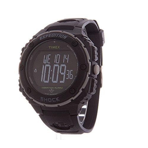 nueva estilos ecf2d 82818 Timex T49950SU - Reloj digital de cuarzo para hombre con correa de resina,  color negro de TIMEX