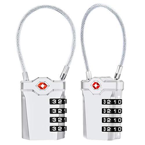 Candados de Equipaje [VersióN Nueva] Diyife 2 X TSA Candado de Seguri