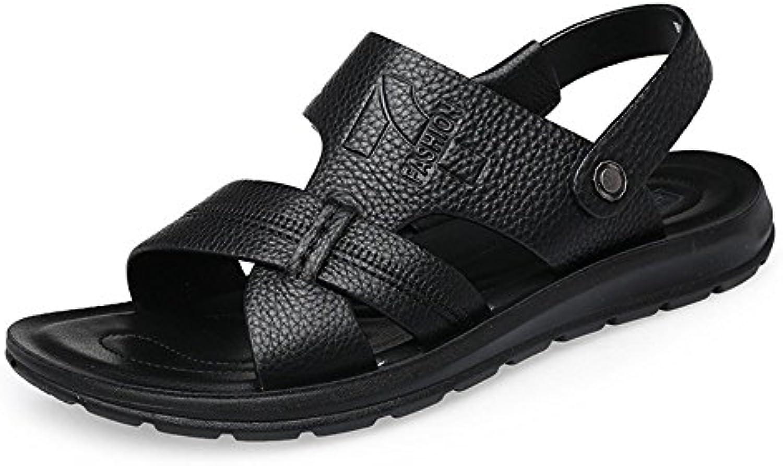 Huahua Sandalias De Verano De Hombres Hombres Calzado De Playa Antiresbaladiza Sandalias Y Zapatillas Senderismo