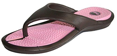 Coolers , Chaussures de piscine et plage pour homme Marron