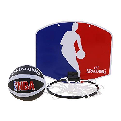 Spalding NBA Team - Mini juego baloncesto Logoman