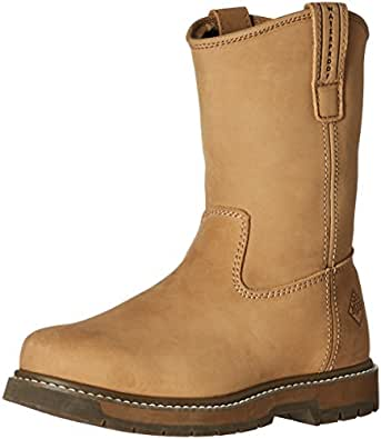 MuckBoots Men s Wellie Classic Work Boot Wheat 10 D(M) US
