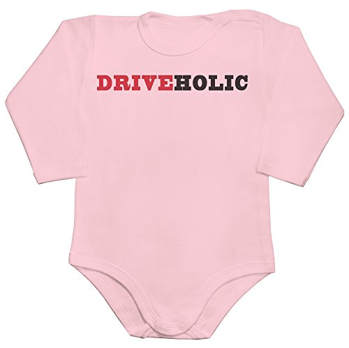 Driveholic The Person Who Loves Driving Baby Romper Long Sleeve Bodysuit