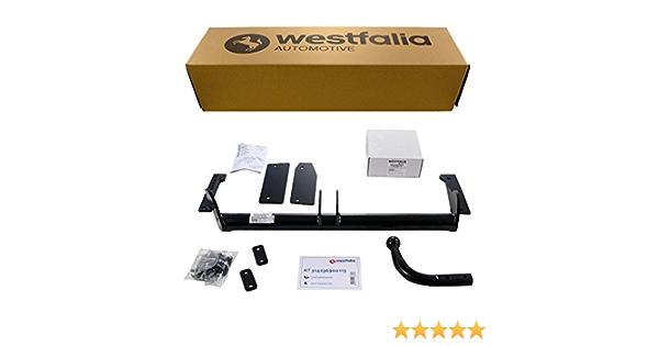 Starre Westfalia Anhängerkupplung Für Astra G Fließ Stufenheck Bj 03 98 03 04 Im Set Mit 13 Poligem Fahrzeugspezifischen Westfalia Elektrosatz Auto