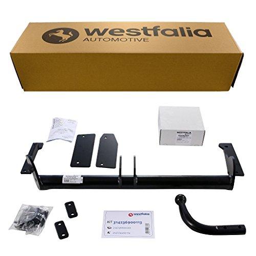 Starre Westfalia Anhängerkupplung für Astra G Fließ-/Stufenheck (BJ 03/98-03/04) im Set mit 13-poligem fahrzeugspezifischen Westfalia Elektrosatz