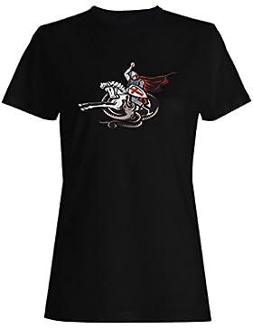 Soldado del vintage del guerrero de Inglaterra camiseta de las mujeres d799f