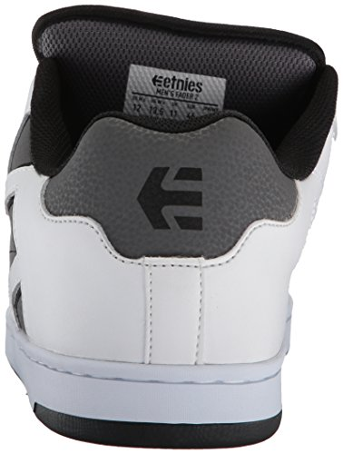 Etnies Fader 2, Chaussures de Skateboard Homme White Grey Black