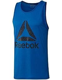 Reebok Wor Supremium 2.0 Deltatk Camiseta sin Mangas, Hombre, Azul (Awesom), M