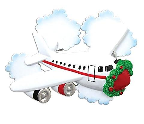 Personalisierte Weihnachtsschmuck travel-jetliner - WE CUSTOMIZE for you