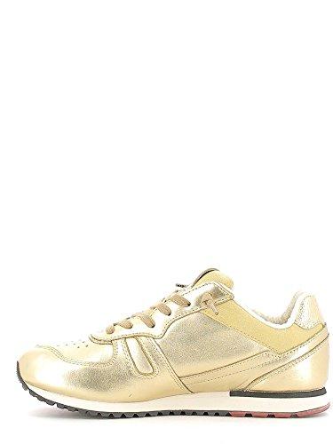 Lotto Leggenda, Donna, Tokyo Shibuya Gold Star White Antique, Pelle, Sneakers, Giallo, 36 EU Doré