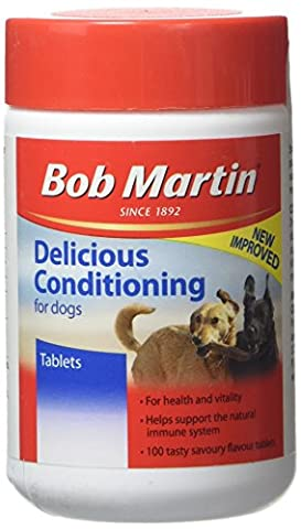 Bob Martin Delicious Conditioning Tablets for Dogs, 100