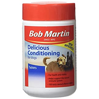 Bob Martin Delicious Conditioning Tablets for Dogs, 100 Tablets Bob Martin Delicious Conditioning Tablets for Dogs, 100 Tablets 41qi HTlydL