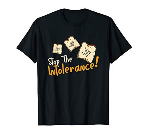 Nahrungsmittel Unverträglichkeit Gluten Intoleranz Geschenk T-Shirt