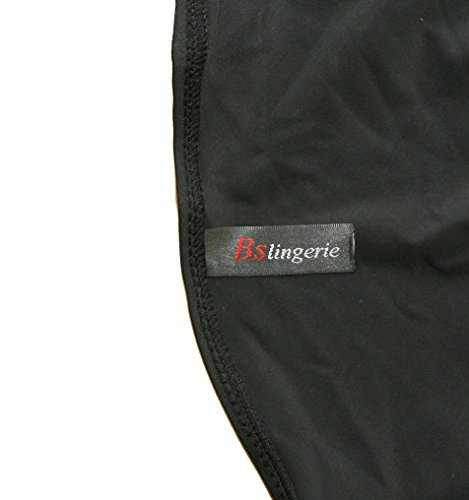 BSLINGERIE® Sexy Damen Retro Bademode Übergröße Halfter Bikini Set (XL, Rot gestreiften Keyhole) - 2