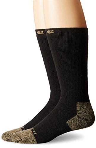 Carhartt .a555–2. BLK. S083 travail Boot Sock, Coque en acier, grande, Noir,
