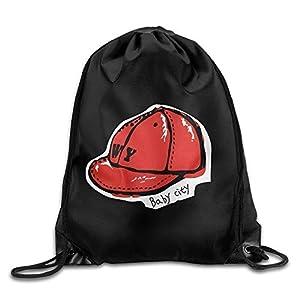 41qi1iTwd%2BL. SS300 engzhoushi Zaino con Coulisse,Sacchetto,Borsa Palestra Drawstring Bags Gym Bag Travel Backpack, Cute Red cap, Girls Drawstring Backpacks for Teen Kids