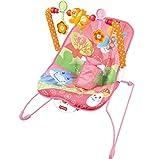 Baby mit Vibration, mit Spielzeug-Wippe mit Babyhugs–CUTE Pink Schmetterling