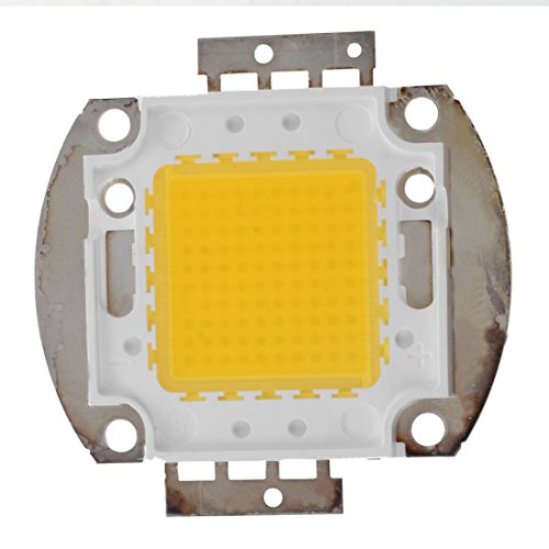 SODIAL(R) 100W LED Leuchte High Power Chip DIY Lampe Licht Beleuchtung Warmweiss -