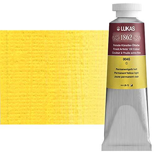 Lukas 1862 Ölfarbe, 37 ml, 045 Permanent gelb hell