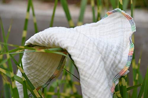 Staubtuch aus Bio-Baumwolle, 2 Stück, Haushaltstuch, reinigen, umweltfreundlich, ökologisch, sauber, putzen, Haushalt, Allzwecktuch, ca. 29 x 29 cm, waschbar, Zero Wast, Reinigungstuch -