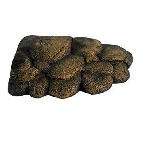Roca de Resina Artificial Isla Flotante Juego Reptil Decoración Terrario