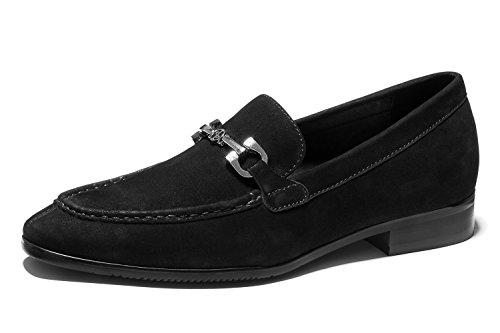 OPP Mocassins en Cuir Loafers Chaussures de Ville Pour Hommes