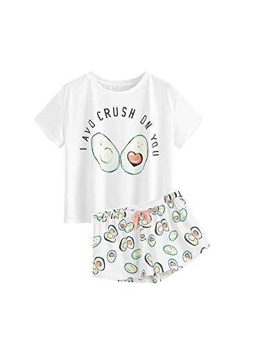 Cartoonmuster Sleepwear Pyjama Set - 18,99 EUR