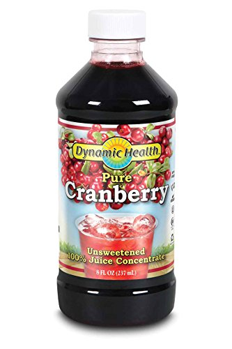 Dynamic Health 237ml 100 Percent Pure Cranberry Juice Concentrate