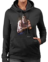 Martyn Goddard Official Photography - Bryan Ferry Roxy Music Women's Hooded Sweatshirt
