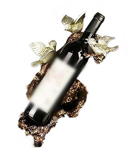YANFEI Home Resin Wine Rack American Pastoral Three Little Birds