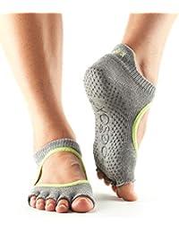Toe Sox BELLARINA - Calcetines con los dedos abiertos (con superficie antideslizamiento), Heather
